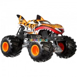 Hot Wheels Monster Truck velký Tiger Shark