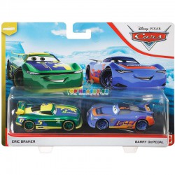 Disney Pixar Cars Eric Braker a Barry DePedal