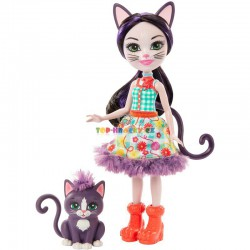 Enchantimals panenka Ciesta Kočková a kočka Climber