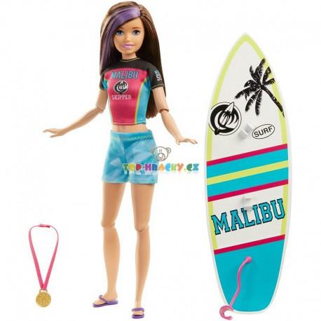 Barbie Sportování surfařka Skkiper