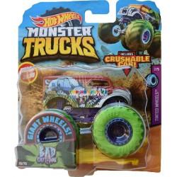Zobrazit větší Hot Wheels Monster Trucks Bad Cartitude