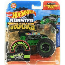 Hot Wheels Monster Trucks Ratical Racer