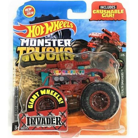 Hot Wheels Monster Trucks Invader 50/75