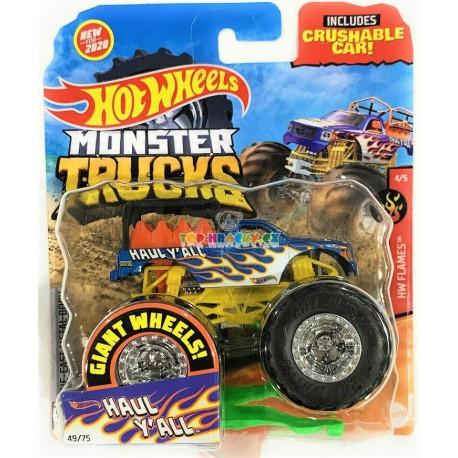 Hot Wheels Monster Trucks Haul Y All 49/75
