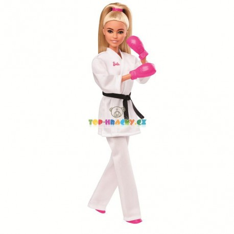 Barbie Olympionička karatistka Tokyo 2020