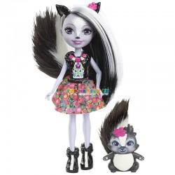 EnchanTimals panenka Sage Skunková se zvířátkem