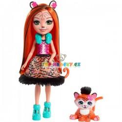EnchanTimals panenka Tanzie Tygrová se zvířátkem