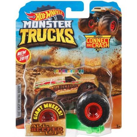 Hot Wheels Monster Trucks All Beefed Up 19/75
