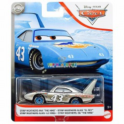 Disney Pixar Cars metalický Dinoco King 43