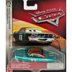 Disney Pixar Cars metalický Mario Andretti