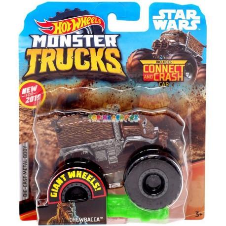 Hot Wheels Monster Trucks Chewbacca 55/75