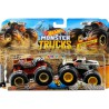 Hot Wheels Monster Trucks demoliční duo HW Safari a Wild Streak
