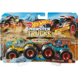 Hot Wheels Monster Trucks demoliční duo Raijyu a Koumori