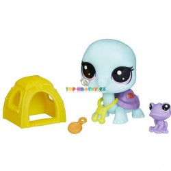 LPS Littlest Pet Shop 112 želva a 113 žába