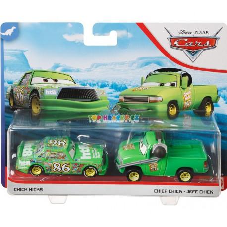Disney Pixar Cars Chick Hicks a Chief Chick