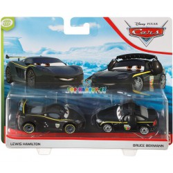Disney Pixar Cars Lewis Hamilton a Bruce Boxmann