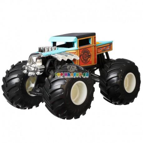 Hot Wheels Monster Truck velký Boneshaker