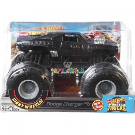 Hot Wheels Monster Truck velký Dodge Charger R/T