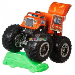 Hot Wheels Monster Trucks Will Trash It All