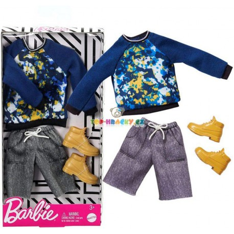 Barbie Kenovy oblečky mikina a kraťasy