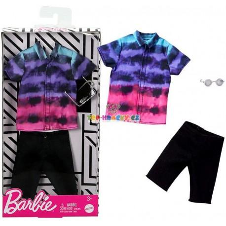 Barbie Kenovy oblečky košile a kraťasy