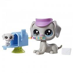 LPS Littlest Pet Shop 107 pes a 108 mládě s doplňky