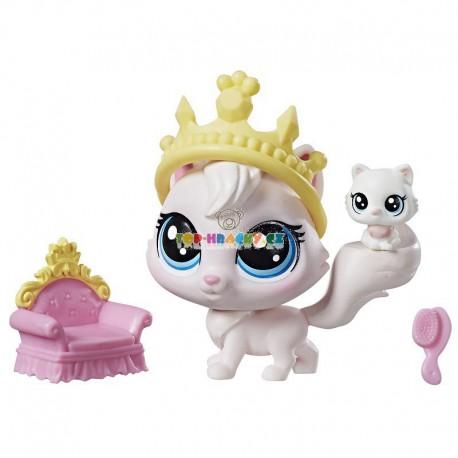 LPS Littlest Pet Shop 98 perská kočka a 99 mládě s doplňky