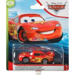 Disney Pixar Cars Blesk Lightning McQueen with racing wheels