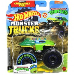 Hot Wheels Monster Trucks Turtles Leonardo