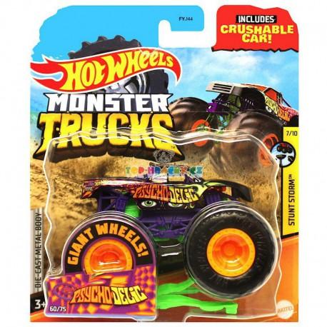 Hot Wheels Monster Trucks Psychodelic