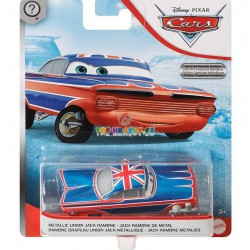 Disney Pixar Cars metalický union Jack Ramone
