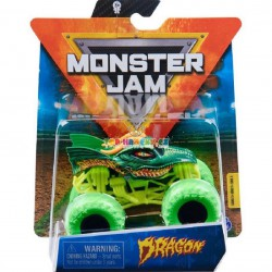 Monster Jam Sběratelská auta Die-Cars auta Dragon 1:64