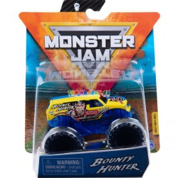 Monster Jam Sběratelská auta Die-Cars auta Bounty Hunter 1:64