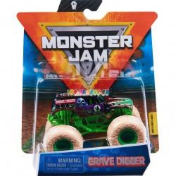 Monster Jam Sběratelská auta Die-Cars auta Grave Digger 1:64