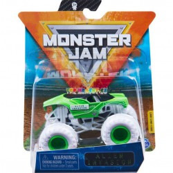 Monster Jam Sběratelská auta Die-Cars auta Alien Invasion 1:64