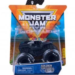 Monster Jam Sběratelská auta Die-Cars auta Soldier Fortune 1:64