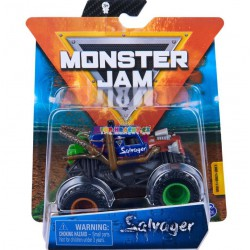 Monster Jam Sběratelská auta Die-Cars auta Salvager 1:64