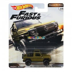 Hot Wheels Rychle a zběsile 91 Mercedes Benz G-Class