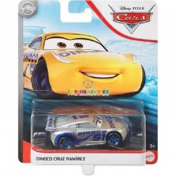 Disney Pixar Cars stříbrná Dinoco Cruz Ramiréz