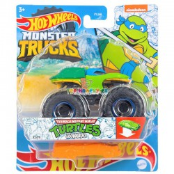 Hot Wheels Monster Truck Turtles Leonardo