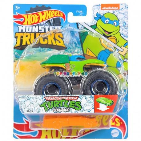 Hot Wheels Monster Truck Turtles Leonardo