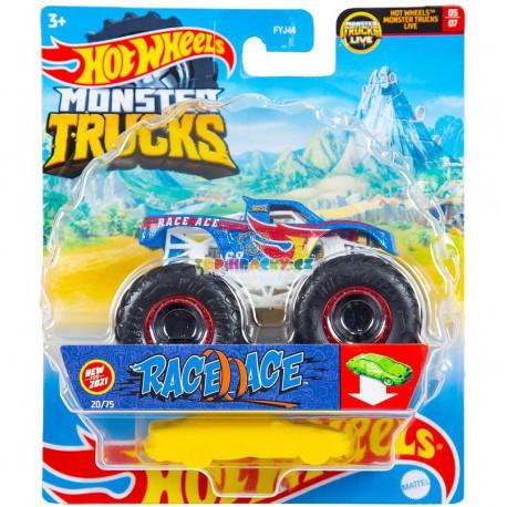 Hot Wheels Monster Truck Race Ace