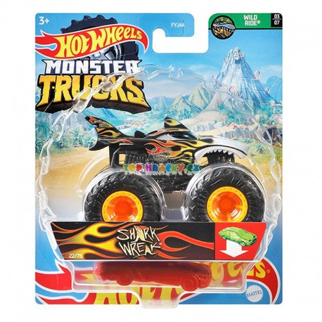 Hot Wheels Monster Truck Shark Wreak