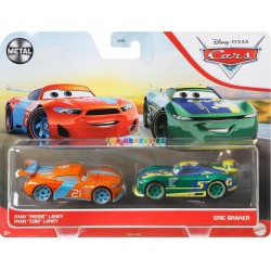 "Disney Pixar Cars Ryan ""Inside"" Laney a Eric Braker"