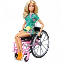Barbie fashionistas modelka 165 na invalidním vozíku