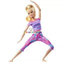 Barbie v pohybu blondýna model 2021