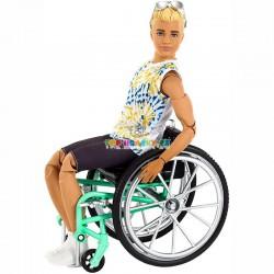 Ken fashionistas  167 na invalidním vozíku