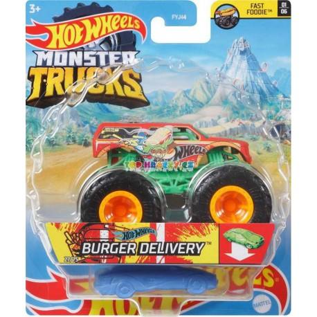 Hot Wheels Monster Trucks Burger Delivery