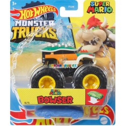 Hot Wheels Monster Trucks Super Mario Bowser