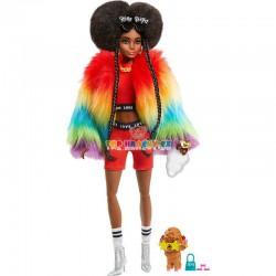 Barbie Extra v pláštěnce
